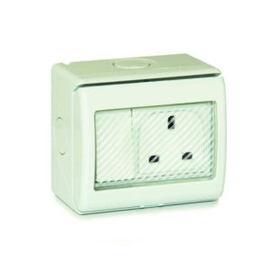 Weatherproof 13A Single Socket IP55